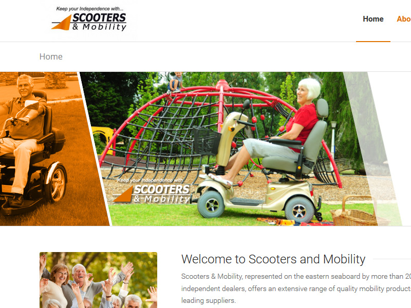 Scooters-mobility-website