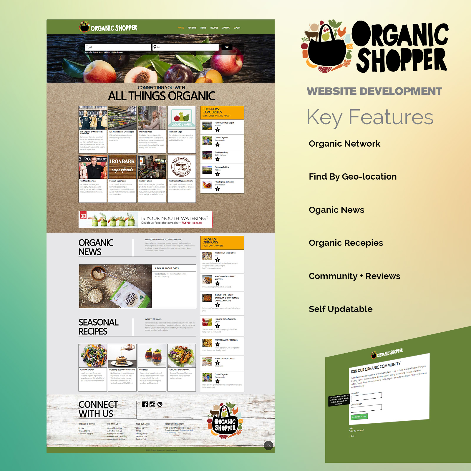 organic-shopper-website-iPhone-Mockup-PSD